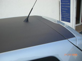 vollverklebung carbon look vw polo bluemotion 05