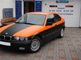 foliendesign vollverklebung 3er bmw compact schwarz orange matt 02