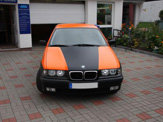 foliendesign vollverklebung 3er bmw compact schwarz orange matt 04
