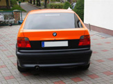 foliendesign vollverklebung 3er bmw compact schwarz orange matt 05